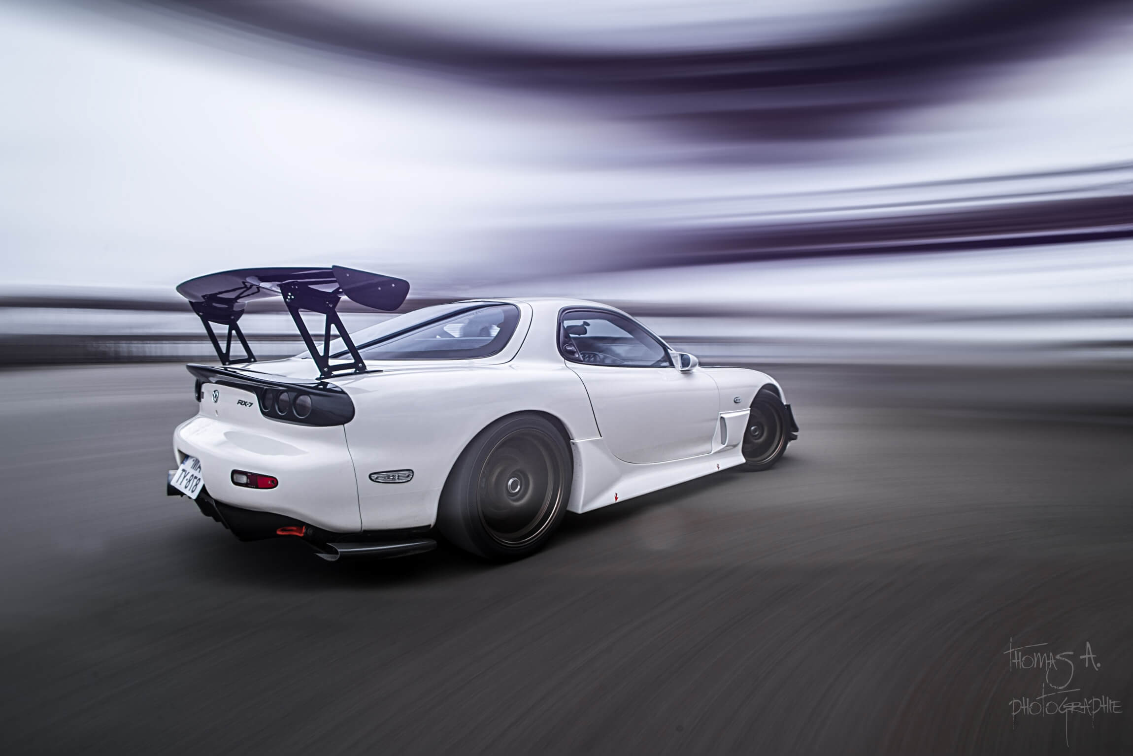 Shooting Mazda Rx7 Donges Rigshot