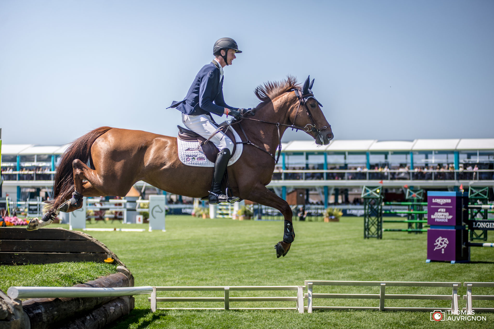 Jumping International La Baule Schuttert Frank La Fille Rouge